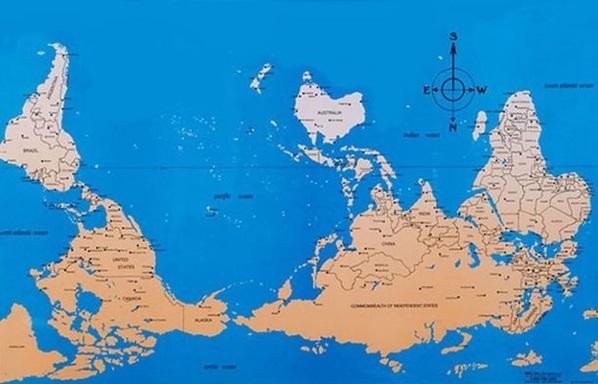 карта мира 3